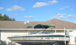 Hin: mab10232h596 Fuel tank capacity: 40 Boat cover; Stereo; Bimini top; Swim platform;