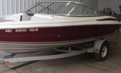 4.3L V-6-Nice clean runabout!! Nominal Length: 19' Length Overall: 19' Engine(s): Fuel Type: Other Engine Type: Stern Drive - I/O Beam: 8 ft. 0 in. Stock number: U9900RD