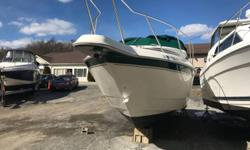 """1996 Monterey 276 Cruiser. 29' LOA with a 9'6"""" beam. The boat is in great condition and has been well cared for. It has low hours (about 250) and the twin 4.3L motors run great. Over $6,000 in recent repairs/upgrades: * May, 2018: New bellows (both"""