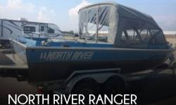 Actual Location: Fort Wainwright, AK - Stock #085509 - If You Want The Toughest, Safest, Heaviest Gauge Aluminum Boat, This Ranger Is For You!!!This North River Ranger 20 is perfect for both freshwater fishing on rivers and the open ocean in up to two