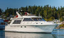 "Recent price drop February 2018. The Ocean Alexander 548 offers a huge 17'6"" beam, a very spacious interior and great layout. Three cabins, 2 heads, with a terrific pilothouse with plenty of seating, a nice open galley. There is a large aft cockpit with a"