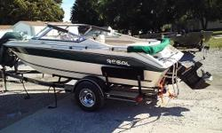 THIS THING IS NEAR TO PERFECT! 1996 REGAL 176SX VALENTE 17' BOWRIDER WITH A MERCRUISER 3.0L ENGINE AND OUTDRIVE AND LIFETIME TRAILER. FEATURES INCLUDE: NEW TOWABLE COVER TWO BIMINI TOPS SKI LOCKER STEREO NEW TIRES ON TRAILER FREE WINTERIZE IF PURCHASED