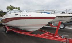 1996 Rinker 232 Captiva CuddyMercruiser 5.7 V8 260 Hp engine ( Reman engine installed last year)Cockpit coverDual battery Custom tandem axle trailerDepth gaugeNew stereoporta pottyCockpit filler cushionsVHF radioOne owner boat.