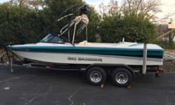 1996 Sanger V210 1996 Sanger V210, Call today 805-466-9058 or kris@vsmarine.com 311 hours, EFI Scorpion, Cruise control, Tower, Stereo, Racks, Bimini, Boat cover, Heater, Shower, Just serviced and new tires. Engine(s): Fuel Type: Gas Engine Type: Other
