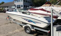 This is a nice clean 1996 Sea-Ray 175 Bow rider. Its powered by a 3.0-liter MerCruiser out drive with 135 HP. Included in this deal is a galvanized trailer, to take this boat anywhere! This boat has only been used in fresh water. Come to
