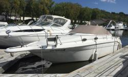 The 1996 Sea Ray 270 Sundancer is priced to move and comes with a 7.4L MerCruiser with Bravo II drive. Nominal Length: 27' Length Overall: 29.9' Max Draft: 3' Engine(s): Fuel Type: Other Engine Type: Stern Drive - I/O Draft: 3 ft. 0 in. Beam: 8 ft. 6 in.