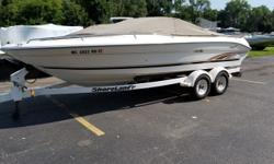 If you've been anywhere around boats you've certainly heard of Sea Ray! Here is your chance to own a great boat at a great price! Plenty of room for the family and enough power to pull skiers and tubers all day! Trades Considered. General Options BIMINI