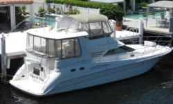 PRICE REDUCTION - OWNER SAYS SELL1996 42' Sea Ray Aft Cabin MY -- Excellent Condition -- Very Well Maintained!! Low Hours on Upgraded CAT 3126's w/ 407HP each!!3 Stateroom Layout with Custom Real Maple Wood Interior, Etched Mirrors, New Canvas + Much