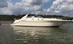 This very clean Dancer has a new 3126 CAT put in her. Sellers loss is the buyers gain! The pics will show itself. She has been cared for with an open checkbook! Don't let this fresh water boat get away! The boat is physically on the Ohio River in