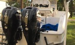 1996 Sea Ray Laguna Series 24 Center Console Twin Mercury 2013 150 4 stroke outboards 235 hrs. Smartcraft Mercruiser monitor version 6.0 gauges. 4 blade SS propscommode Upgraded electronics Lowrance HDS9 Gen 2 Touch Fusion 600 MSIP AMFM radio UHF. New