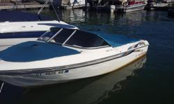 1996 Sunbird 170 BR Stern Drive Bow Rider With TRAILER!135 HP Cobra EngineGood Condition for the year and price!Starts right up no problem, in the water for immediate test drive and sale!!WILL MOVE FAST!!! Engine(s): Fuel Type: Gas Engine Type: Stern