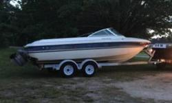 1996 Sunbird Corsair 200 BR Great 1996 Sunbird Corsair 200 BR boat in great condition 20 feet in overall length Equipped with a 5.0 Liter Ford Single Inboard motor with a Volvo Penta Outboard Currently with ONLY 30 hours on them The Upholstery within is
