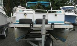 NEW INVENTORY 1996 Sweetwater 2019ES This pontoon is a good boat, motor, & trailer package to get on the water for a good price! This boat comes w: Yamaha 70hp motor Pontoon Bunk Trailer Bimini Top Stereo w/ Speakers LED Docking Lights This pontoon is