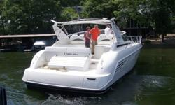 SALE PENDING 1996 Trojan 440 Express Cruiser Must see - 1996 Trojan 440 Express - powered by twin Catepiller 420hp disels with only 145 hours. This wide spacious sport cruiser has been fully serviced, wet sanded and polished, new fridge, new A/C's Call or