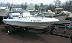1996 Wellcraft 160 CCF Center Console. 2000 50 HP Evinrude with Good Compression. EZ Loader Trailer. 1996 Wellcraft 160 CCF. 2000 Evinrude 50 HP. Good Compression. EZ Loader Trailer. Depth Finder. Great Fishing Boat. Engine(s): Fuel Type: Gas Engine Type: