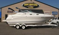1997 Sea Ray Sundancer 240DA Nice Freshwater Boat! 1997 Sea Ray 240DA Sundancer Cruiser with newer Mercruiser 5.7L 260HP Engine and Trailer New 2008 Mercruiser Engine 5.7L. Dealer installed here with documentation. Only has 100 HRS on new motor. This boat