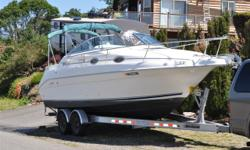 Stock Number: 700691. 1997 SEA RAY 250 SUNDANCER BRAND NEW MERCRUISER MODEL 357 ENGINE 325 HP 3 YEAR WARRANTY 0 HOURS ON IT THE OUTDRIVE WAS ALSO RECONDITIONED NEW hFLUID AND SEALS, GIMBLE BEARING. NEW BOTTOM PAINT 2010, NEW THROTTLE CONTOL 2009,