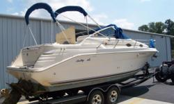 This boat is in good condition for her age. She offers an upscale interior with compact galley, stand up head with shower and a convertible dinette. Her space efficient cockpit has plenty of room for a mid size cruiser. NATIONAL STOCK #25368 PLEASE CALL