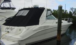 Description 1997 40' Sea Ray Sundancer -- Excellent Condition -- OWNERSAYSSELL Call With All Offers!!! ONLY600 HOURSONREBUILTCATDIESELS!!!! Key Features Twin 3116 CAT's -- 292HP Fururo Radar Northstar 952x GPS B+G VHF B+G Network Quad ACR Spot
