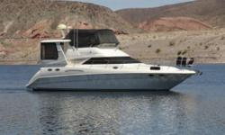 """1997 Sea Ray 420 Aft Cabin Highly Upgraded Aft Cabin Category: Powerboats Water Capacity: 0 gal Type: Motoryacht Holding Tank Details:  Manufacturer: Sea Ray Holding Tank Size:  Model: 420 Aft Cabin Passengers: 0 Year: 1997 Sleeps: 0 Length/LOA: 42' 0"""""""