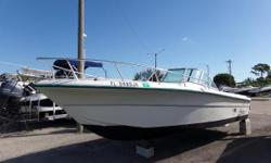 he Angler 204DC is a fun boat ready to go fishing, water skiing, swimming, diving or just plain sightseeing. With all the uncluttered space and ample seating, there's plenty of room for family and friends. Major storage areas are located under the forward
