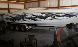 Actual Location: Afton, OK - Stock #096696 - If you are in the market for a high performance boat, look no further than this 1997 Baja 29 Outlaw, just reduced to $31,000.This boat is located in Afton, Oklahoma and is in great condition. She is also