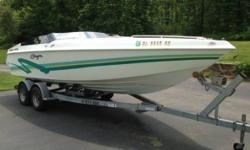 1997 Baja 420 Sport 1997 Baja 420 Sport model in great condition 24 feet in overall length Sleeps 4 comfortably within as well! Equipped with a 7.4 Liter 454 MerCruiser Single Inboard Outboard motor and a Bravo 1 Outdrive Currently with 300 hours on it!