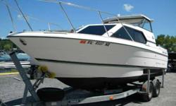 REDUCED PRICE 1997 Bayliner 2452 CD Ciera Express This Boat has it all . AC ,Heat , Refer, Hot Plate , Head .Forward Windows to look out at your view . Not like most cruisers . Located Saratoga Springs N.Y. 1997 Bayliner 2452Only 18 HOURS . This Bayliner