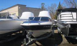 NEW INVENTORY 1997 Bayliner Capri 1850 LS This Bayliver Bowrider is the perfect boat, motor & Trailer package to get on the water! This boat comes with: Mercruiser 3.0L motor Bunk Trailer Bow Cover Cockpit Cover Garmin FF/DF Hummingbird Digital DF This