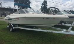 1997 Caravell 1900 Very nice boat ! Bimini top, ready for the lake Beam: 7 ft. 8 in. Stock number: B5813