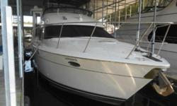 SALE PENDING 1997 Carver 455 Aft Cabin This is a local Freshwater Undercover kept 455 Aft Cabin that has only 1011 hours on twin Cummins 420 Diamond Series Diesels. It is equipped with Generator; Air; Aft Deck Hardtop with Enclosures; Bimini Top with Full