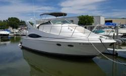 All new canvas, Heated stored, 454 Crusader engines Kohler Generator 537 HRS Low Hours, very well maintained 35' Carver Mariner Rick Lucas 419-834-0788 Draft: 3 ft. 1 in. Beam: 12 ft. 4 in. Fuel tank capacity: 123 Water tank capacity: 75 Holding tank