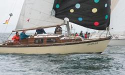 1969 Cascade-29-Sailboat Built in 1969 Juanita AM is a well maintained 29 foot masthead sloop rigged sailboat with solid fiberglass hull fiberglass over plywood decks and mahogany cabin top. She has accommodation for six with two double berths (v-berth