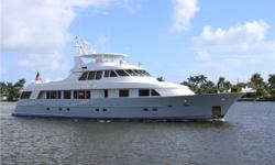 """""""SOC"""" comes from a very successful line of Delta motoryachts. She has a very large owner's stateroom plus 2 guest staterooms below deck, and a fourth en suite stateroom/office on the main deck forward. She has been maintained by the same captain for"""