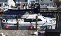 RARE AND SOUGHT AFTER ENDEAVOUR MARK II CATAMARAN The Endeavour Mark II is a huge boat for its length.  This cruising catamaran has it all.  Two stateroom, Diesel Generator, AC, New electronics, dingy with outboard. Brand new sails, all new