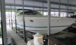 Very Nice Older Formula fresh water use always kept under cover on lift. Twin 7.4 Merc`s 310hp w/Bravo 3 drives.Large cockpit with walk-thru transom, walk-thru windshield, double helm seat with flipup bolster.Hot and cold water system with transom shower.