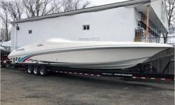 CURRENT PRICE IS A GUIDE.  ALL OFFERS RESPECTFULLY CONSIDERED.     General Description  This is a 1997 Fountain 47 Sport Cruiser and an amazing boat in every way. The boat has all the amenities of a typical cruiser yet she cruises