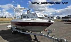 The Maxum has been well kept and has very low hours. This boat is a fully functional family boat with wakeboard tower and full open bow to fit the whole family, but within just a couple of minutes this boat can be switch to a fishing boat with pedestal