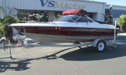 Perfect boat to start all of your lake time adventures. Call Shawn for more details (805) 466-9058 or email shawn@vsmarine.com Engine(s): Fuel Type: Gas Engine Type: Stern Drive - I/O Quantity: 1 Draft: 2 ft. 3 in. Beam: 7 ft. 6 in.
