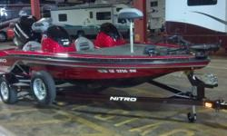 2012 Nitro Z6 23 Hours On Then Engine Very Nice Boat 115 Merc Engine 1 Axel Trailer Runs On Gasoline Anchor Included Bimini Boat Cover Included Fresh Water Boat Located in Placentia CA. Financing Nationwide Shipping and Warranties available to qualified