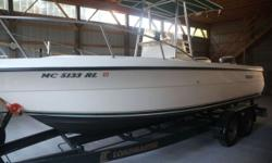 This boat will sell on condition. It gets yearly buff and wax. It has been professionally detailed and stored indoors the last five years. Trades considered. ELECTRIC 12 VOLT SYSTEM BATTERY BATTERY SWITCH ELECTRONIC ENGINE ALARM FISH FINDER GPS LAYOUT