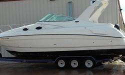 1997 Regal Marine Commodore 322 Cabin Boat Inboard Outdrive 260 Horsepower Swim Ladder Swim Platform AM FM Anchor Fresh Water Compass Located in Willis TX Financing Nationwide Shipping And Warranties Available To Qualified Buyers Stock Number: B185884T