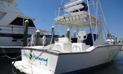 This is a 36 Sportfish / Express Cruiser. She has a full tower with 2nd helm, electronics, LED lighting, outriggers, and more. She has twin Cummins 371's with around 1700 hours. She appraised in Sept of 2013 for $149,000 and has had several