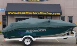1997 SEA DOO CHA Hull color: Green/White Stock number: CON-990