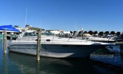 (CURRENT OWNER OF 2-YEARS) 1997 SEA RAY 330 SUNDANCER -- PLEASE SEE FULL SPECS FOR COMPLETE LISTING DETAILS. LOW INTEREST EXTENDED TERM FINANCING AVAILABLE -- CALL OR EMAIL OUR SALES OFFICE FOR DETAILS. Features Twin MerCruiser 7.4-litre 340-hp Gas