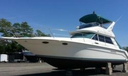 1994 Sea Ray 370 Sedan Bridge 1994 Sea Ray 370 Sedan Bridge model in great condition 37 feet in overall length Comes fully loaded as well! Standard Features include.- - 2 Staterooms - Dual Ducted Air Conditioner Units - Full Bathroom with Shower - Full