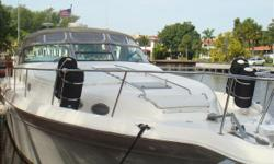 1997 45' Sea Ray Sundancer -- CAT Diesel Engines + Raymarine Electronics -- Spacious 2 Stateroom + 2 Head Layout****Moving Up to a Larger Vessel -- Owner Says Sell****Call with an Offer or to Arrange a Showing Today!Key Features;AccomodationsMaster