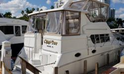 Must be seen!!! This is truly a rare Silverton 402 MY, meticulously maintained and in immaculate condition. She is very clean and exceptionally well equipped, with Cat 3116 Diesel power option (with Stainless Steel manifolds) and a new Northern