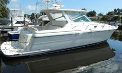 Huge Price Reduction For Immediate Sale!  This 4000 Express is a well-kept upscale 2 stateroom diesel cruiser, known for her tremendous ride, top-quality construction, and roomy spaces.   Inside her air-conditioned cabin, she is bathed