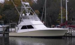 Very Nice - Very Well Maintained - 950 Hours since Major Overhaul 3 Stateroom Layout - Flat Screen TV - Teak Restored - Very Nice - Well Worth the Purchase Owner Downgrading to a Center Console - Looking For Offers Nominal Length: 50' Length Overall: